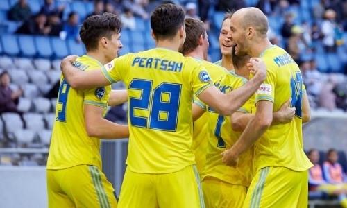 «Астана» узнала первого соперника в Лиге Чемпионов