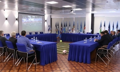 Состоялось очередное заседание Судейско-экспертной комиссии КФФ