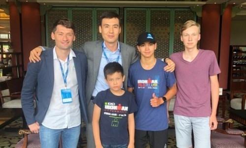 Казахстан получил право голоса в исполкоме Азиатской конфедерации триатлона