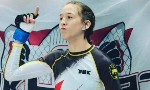 Первая в истории Казахстана чемпионка мира по ММА сразится с американкой за контракт с UFC