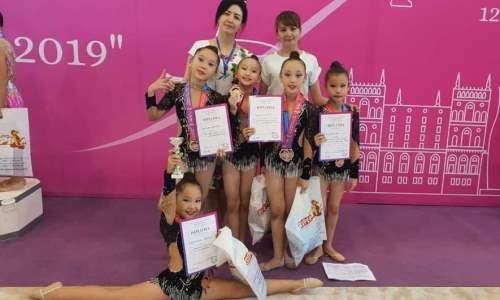 Команда мангистауских гимнасток заняла третье место на международном турнире в Баку