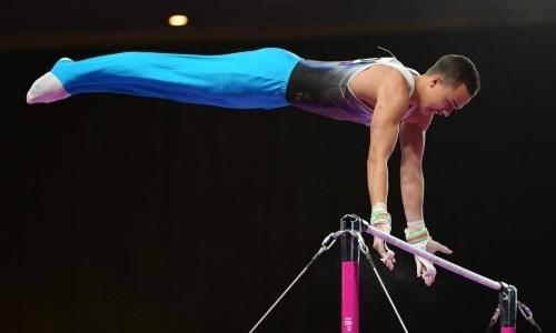 Казахстанец вышел в финал чемпионата Азии по спортивной гимнастике
