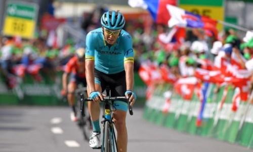 «Мне нравятся такие этапы». Гонщик «Астаны» доволен своим выступлением на «Туре Швейцарии»
