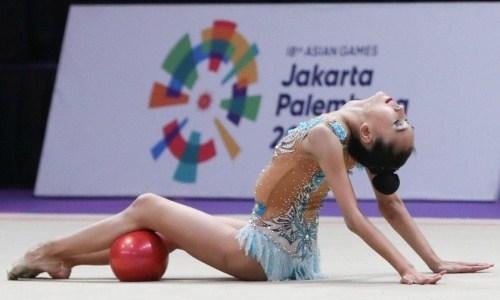 Тлекенова завоевала «бронзу» на чемпионате Азии по художественной гимнастике