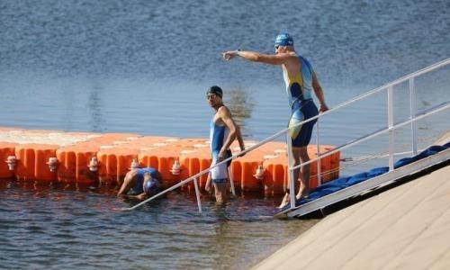 Впервые в Актобе проходит чемпионат Казахстана по триатлону