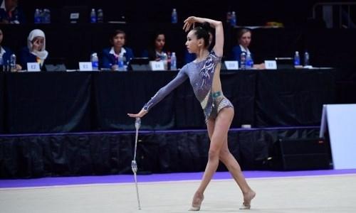 Казахстанка выиграла четвертую и пятую медали на ЧА-2019 по художественной гимнастике