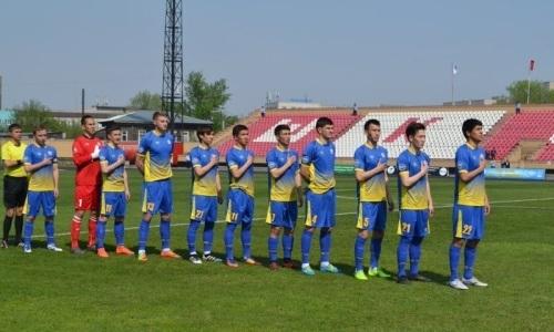 «Алтай» на выезде переиграл «Актобе-Жас» в матче Первой лиги