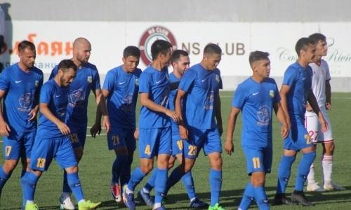 «Каспий» на выезде минимально уступил «Кызыл-Жар СК» в матче Первой лиги