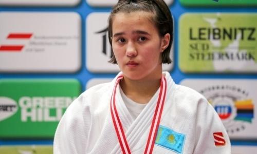 Дзюдоистка из Казахстана — победительница Кубка Европы