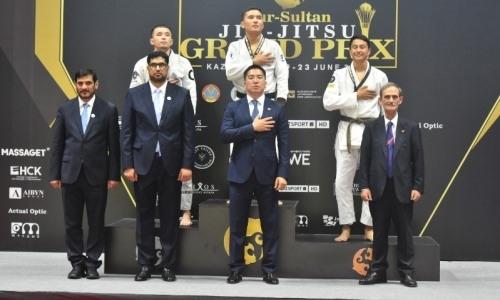 Казахстан занял первое общекомандное место на международном турнире по джиу-джитсу