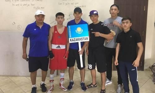 Боксеры из Мангистау завоевали пять медалей на международном турнире в Грузии