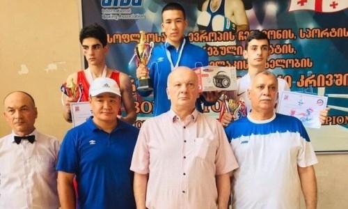 Казахстанские боксеры завоевали пять медалей на международном турнире в Грузии