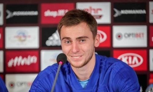 Футболист сборной Казахстана дал первое интервью вбельгийском клубе