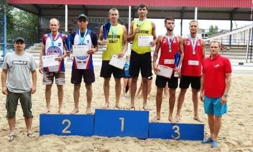 В Актау прошел второй тур чемпионата Казахстана среди пляжников