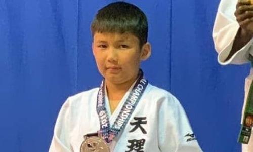 10-летний дзюдоист из Казахстана выиграл «серебро» в США