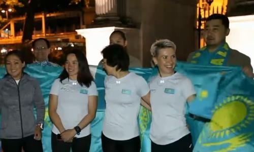 Казахстанки впервые участвуют в ультратриатлоне из Лондона в Париж