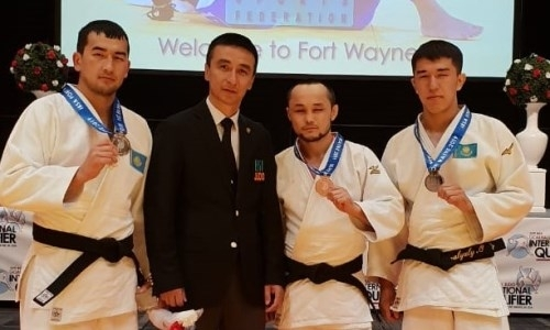 Казахстанские парадзюдоисты взяли три медали на квалификационном олимпийском турнире