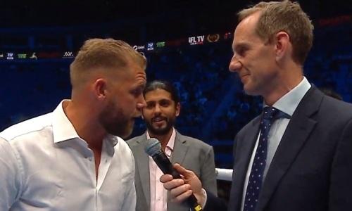 «Я хочу драться здесь». Сондерс приехал в Казахстан и обратился к Головкину