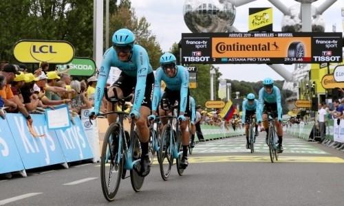 Лидер «Астаны» обозначил цели на «Тур де Франс» после серьезного падения на первом этапе