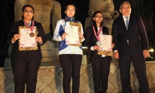Казахстанская шахматистка стала чемпионкой Азии среди юниоров