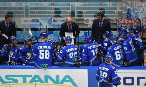 КХЛ представила план подготовки «Барыса» к новому сезону