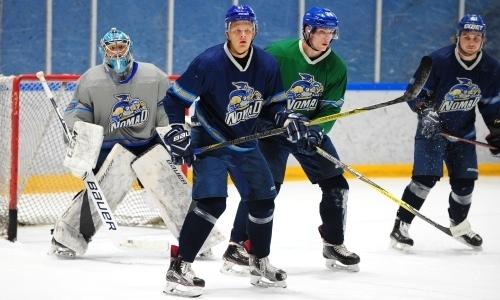 Хоккеисты «Номада» приступили к УТС