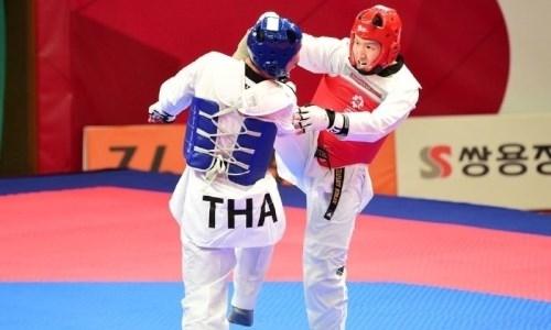 Казахстанские таеквондисты стали призерами открытого чемпионата в Корее