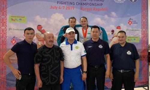 Армейские рукопашники из Казахстана стали чемпионами Азии