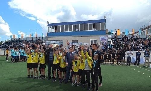 Видеовыпуск КФФ: турнир памяти Сегизбаева, сельский колорит, юные судьи и радость чемпионов
