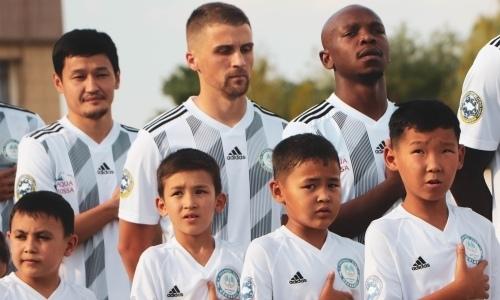 «Ордабасы» назвал стартовый состав на матч Лиги Европы с «Торпедо»