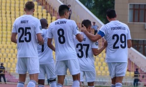 «Ордабасы» победил грузинское «Торпедо» на старте в Лиге Европы
