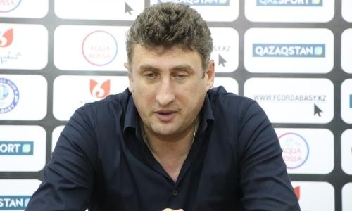 «Минимум мы выполнили». Цхададзе назвал главную проблему «Ордабасы» в победном матче с «Торпедо»