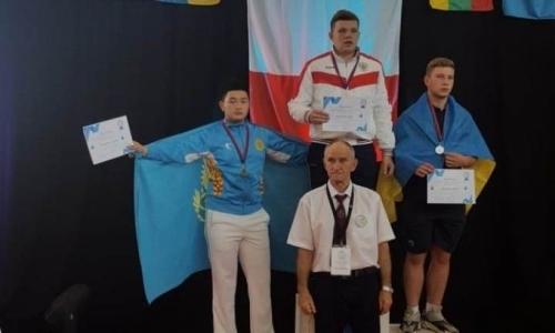 Акмолинские гиревики стали призерами чемпионата Европы во Франции