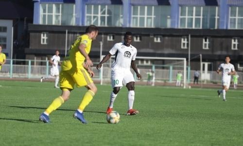 Нападающий «Атырау» провел сотый матч в КПЛ
