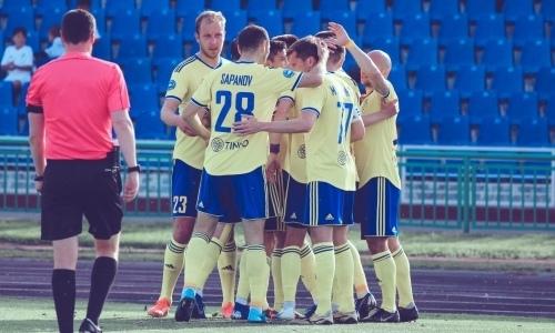 «Жетысу» после пяти матчей без побед уничтожил «Иртыш»
