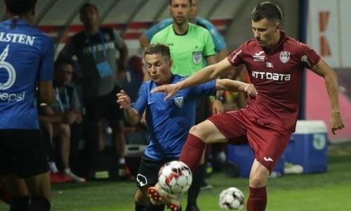 «ЧФР Клуж» перед ответным матчем с «Астаной» не смог выиграть в чемпионате
