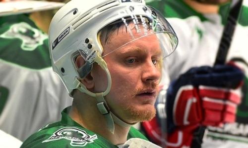 Выступавший в КХЛ защитник перешел в «Горняк»
