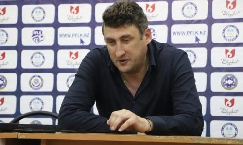 «В таких матчах решает только один гол». Наставник «Ордабасы» отметил хорошее состояние игроков, несмотря на график