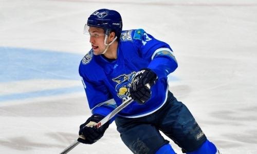 Казахстанский хоккеист не подошел зарубежному клубу
