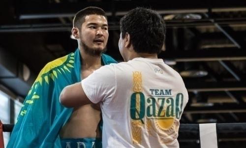 Непобежденный нокаутер из Казахстана узнал дату десятого боя в профи