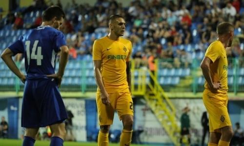 Завершился первый тайм ответного матча Лиги Европы «Кайрат» — «Широки Бриег»
