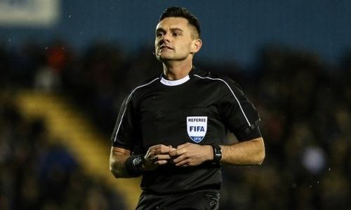 Стал известен главный арбитр матча Лиги Европы «Санта Колома» — «Астана»