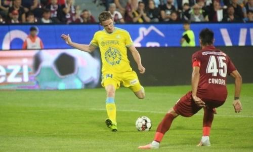 Томасов вышел на второе место в списке лучших ассистентов «Астаны» в еврокубках