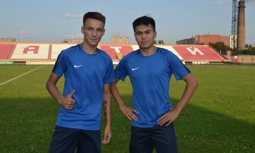 Два молодых футболиста получили шанс закрепиться в команде лидера Первой лиги
