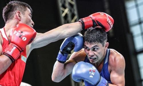Рассечение непомешало казахстанскому призеру чемпионата Азии выйти вфинал Кубка Президента РК