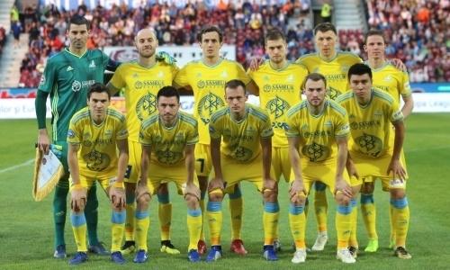 Опубликована заявка «Астаны» на второй отборочный раунд Лиги Европы