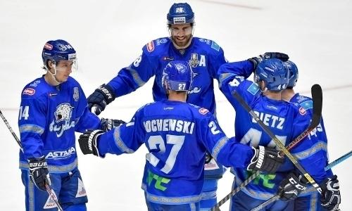Три хоккеиста «Барыса» вошли вчисло лучших легионеров вистории КХЛ
