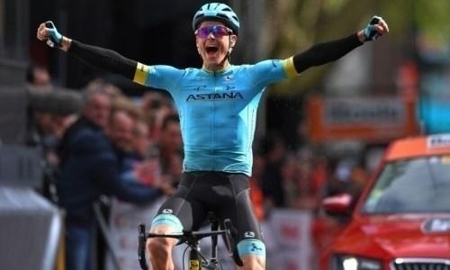 Капитан «Астаны» вернулся в десятку лидеров общего зачета после 14-го этапа «Тур де Франс»