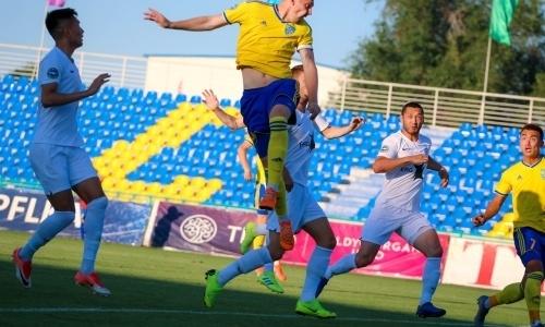 «Жетысу» впервые выиграл у «Иртыша» с разницей в четыре мяча