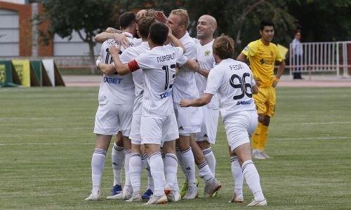 «Тобол» и «Кайрат» выдали невероятный матч с восемью голами и удалением